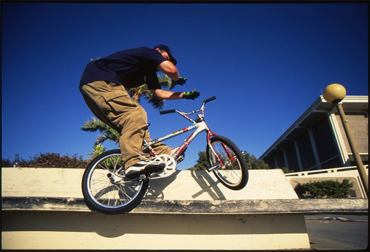 "9. Joe ""the Butcher"" Kowalski. A BMX rider from Pennsylvania who absolutely tears it up on a bike."
