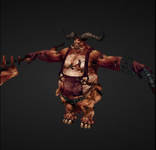 10. The Butcher from Diablo 3. This video game boss would beast on you with various sharp objects if you weren't careful.