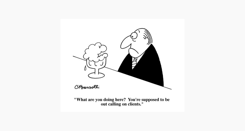 Charles Barsotti. Buy it here.