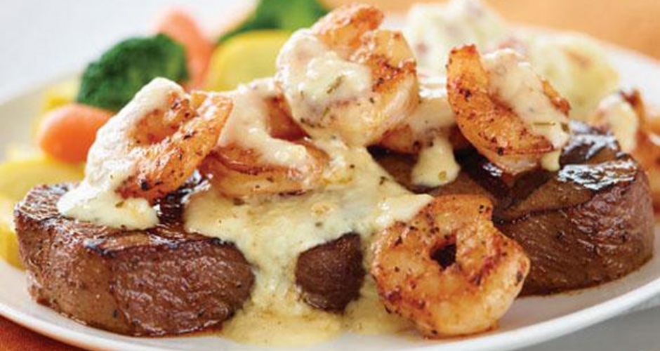 Shrimp 'N Parmesan Sirloin at Applebee's