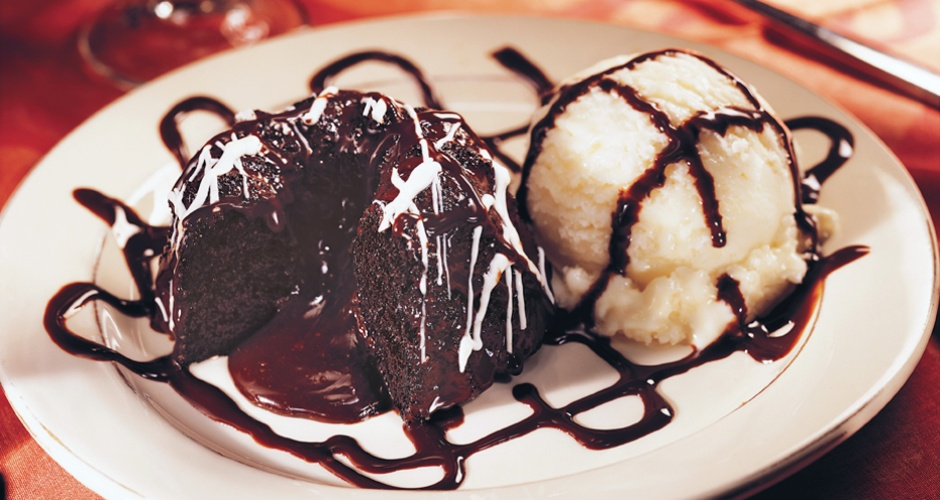 Triple Chocolate Meltdown at Applebee's