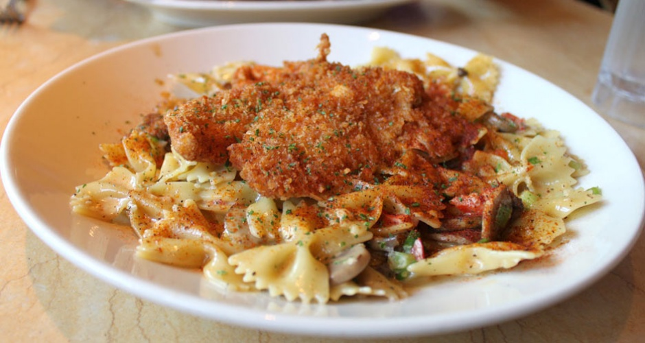 Louisiana Chicken Pasta at Cheesecake Factory