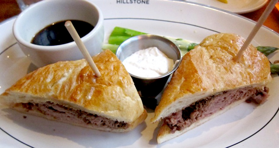 Famous French Dip at Hillstone/Houston's