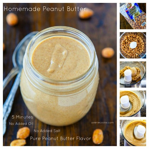Easy Recipe for DIY (Flavored) Peanut Butter | First We Feast