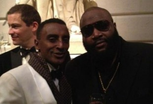 Marcus Samuelsson and Rick Ross (via
