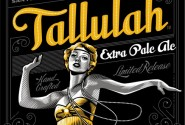 While Tallulah Bankhead surely would have been sipping pink gin rather than pale ale, we love the evocation of Flapper-era decadence here.