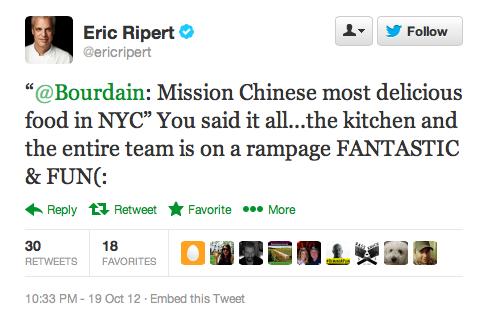 Endorsement #19: Eric Ripert, celebrity chef
