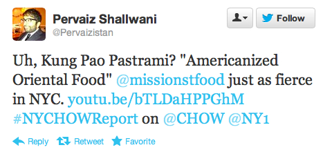 Endorsement #17: Pervaiz Shallwani, journalist and co-host of the NY Chow Report