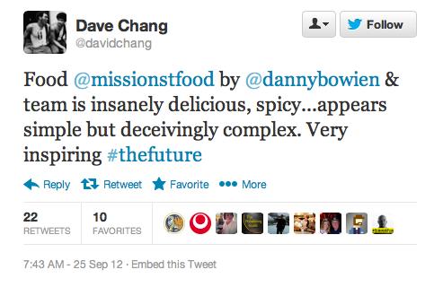 Endorsement #1: David Chang, Momofuku empire builder