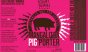 This porter, which cause quite a stir at the Great American Beer Festival, is literally brewed with Magalitsa pig heads.