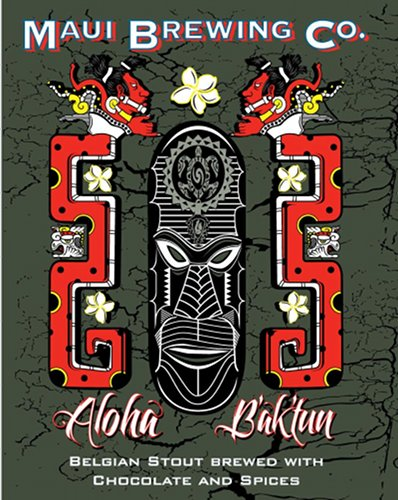 Maui Brewing Co. always does a good job of incorporating native art into its labels.