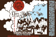 A collaboration between Dieu du Ciel and New Belgium means obscure fruits, hibiscus, and an awesome label. Source