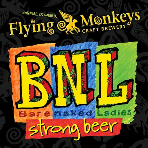 """Flying Monkeys BNL. Ontario brewery Flying Monkeys teamed up with local heroes the Barenaked Ladies to make this imperial chocolate stout, released last fall to coincide with the band's """"Symphony Barenaked"""" tour. (Photo:"""