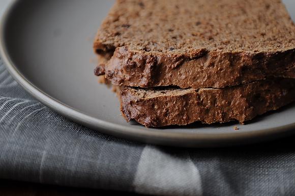 Wake-Up Cocoa Quick Bread. Chocolate for breakfast. 'Nuff said.