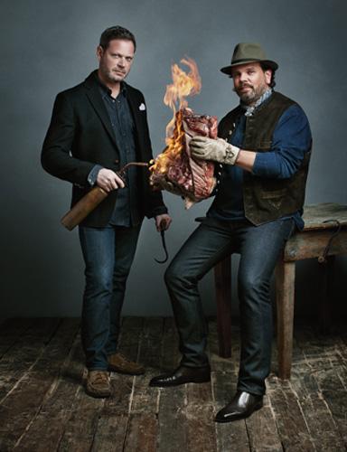 Frank Falcinelli and Frank Castronovo (photo: Playboy)