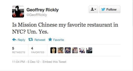 Endorsement #15: Geoffrey Rickly, lead singer of Thursday