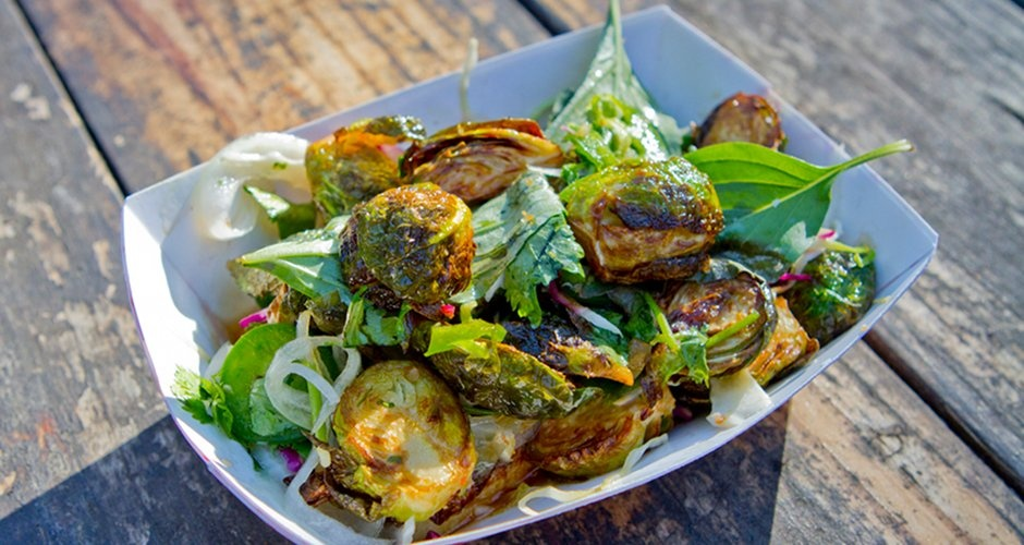 7. Fried Brussels Sprouts