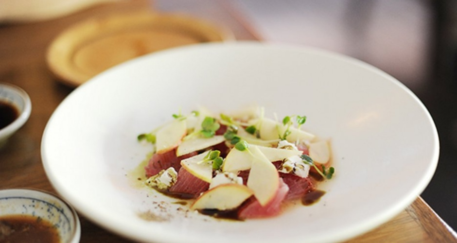 4. Tuna and Goat's Cheese
