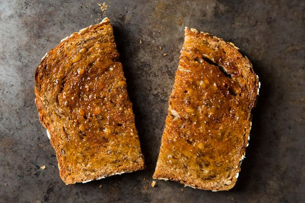 Maple Cinnamon Toast. You may never make cinnamon toast any other way after stirring maple syrup and cinnamon into melted butter, and then brushing it on toast. No more cinna-sugar runoff!