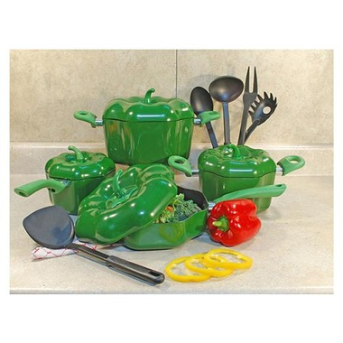 All of your 50-something white friends will love your Bell Pepper-Shape Cookware Set. $62.24