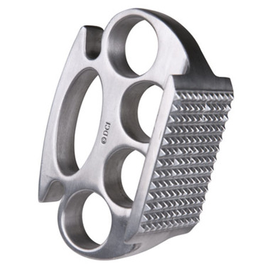 This Knuckle Meat Pounder is perfect for Guy Fieri enthusiasts and Hell's Angels turned stay-at-home dads. $12.95