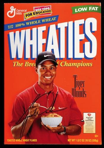 Tiger Woods (1999).