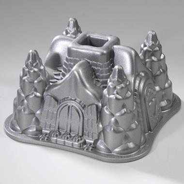 Fairytale Cottage Bundt Pan, for those times when you need to whip up a cool-ass cake for an eight year old. $30