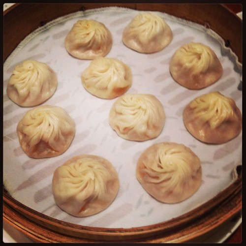Questo crossed off these bucket-list dumplings at Din Tai Fung in Shanghai.