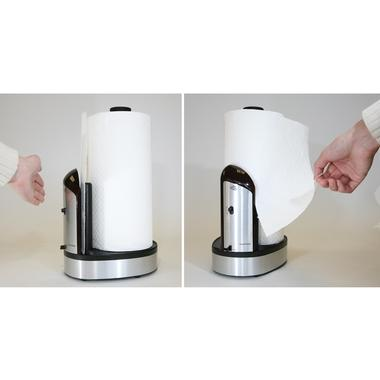 God bless the Towel-Matic, which dispenses paper towels without unraveling the entire roll. $59.99