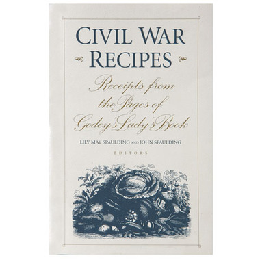 For your next historically themed dinner party, dig into the Civil War Recipe Book. $19.95