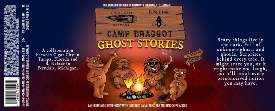 This is the Berenstain Bears on craft beer—madness courtesy of Cigar City and B. Nektar Meadery. Also worth noting that this is a twist on a Source