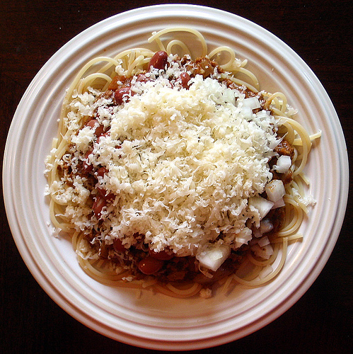 Cincinnati chili (photo: flickr/joyosity)