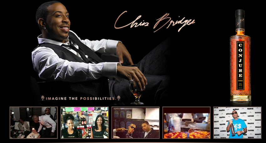 Ludacris is a co-owner of Conjure, a cognac brand that debuted three years ago. Peep the