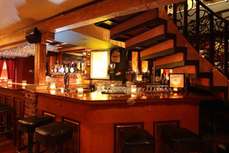La Trappist Cafe in San Francisco, California