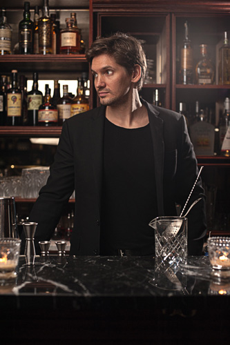 Nicolas de Soto of Experimental Cocktail Club (Photo: The Boilermaker / Addie Chinn)