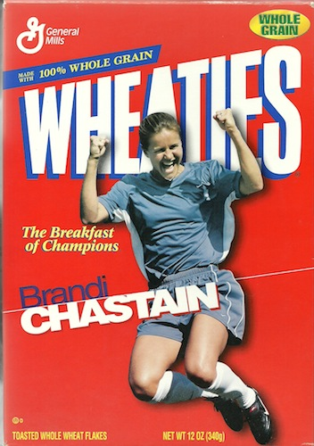 Brandi Chastain (1999).