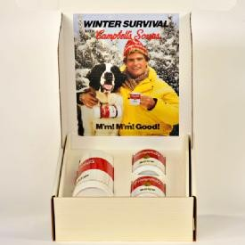 Campbell's Soup Winter Survival Kit.
