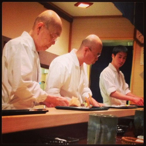 Anyone who has seen Jiro Dreams of Sushi is familiar with this view.