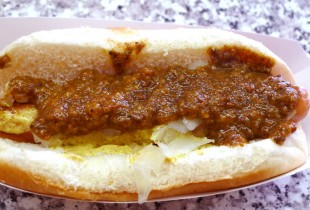 At Mike's, the chili is more fine-grained and subtle than elsewhere.