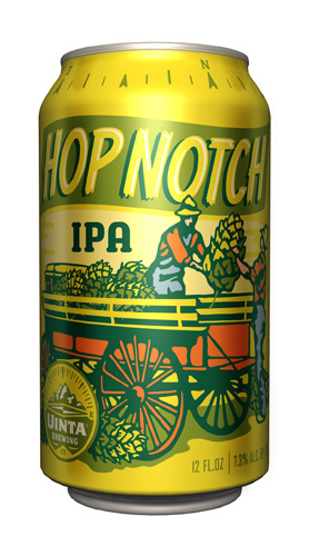 Uinta putting its excellent Hop Notch IPA into cans is reason enough to celebrate. The fact that they made awesome cans is just icing on the cake.