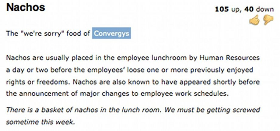 Someone is seriously pissed off at Convergys.