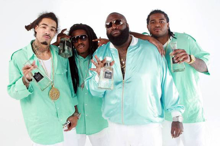 Rick Ross and his crew, the Triple C's, endorse