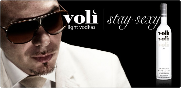 Pitbull holds a majority equity stake in Voli Light Vodkas, which makes low-calorie, infused vodkas. Dame mas gasolina!