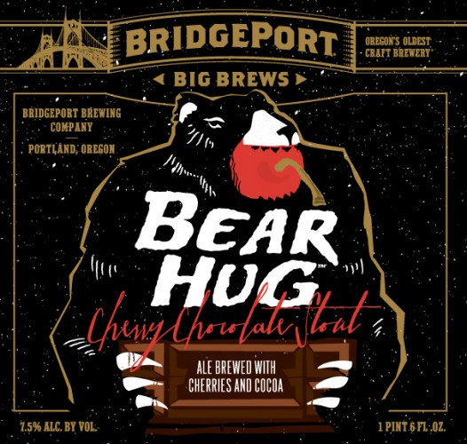 A bear hug is what you want from a big, burly stout. This imagery captures the feeling nicely.