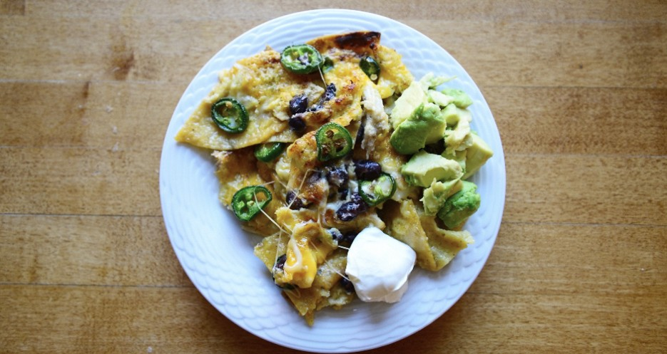 Click through the gallery above to see how the nachos came together.