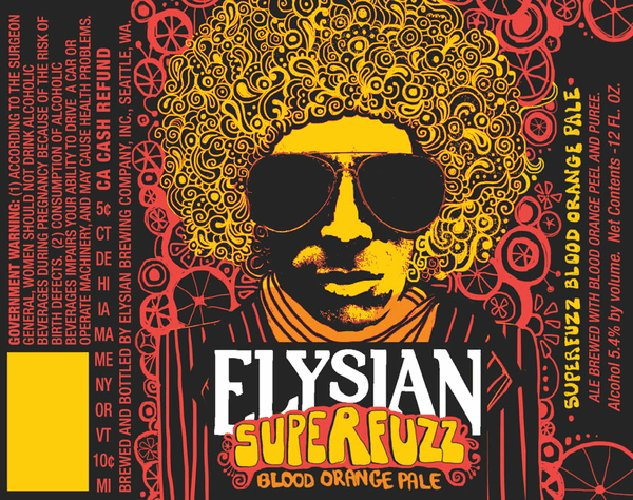 Elysian goes psychedelic for the Superfuzz. Not much to complain about here.