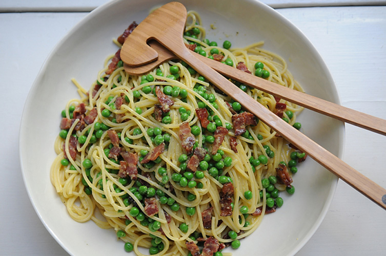 Carbonara. Six ingredients. A pound of bacon. Are you not sold yet?
