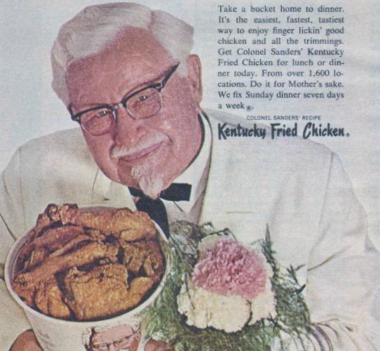 Kentucky Fried Chicken, 1968