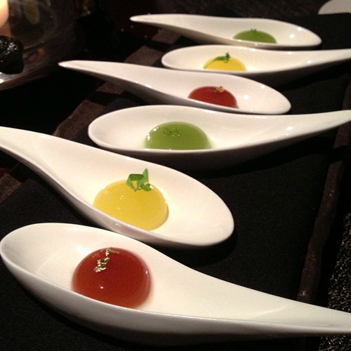 Jellies in flavors including apple and cilantro