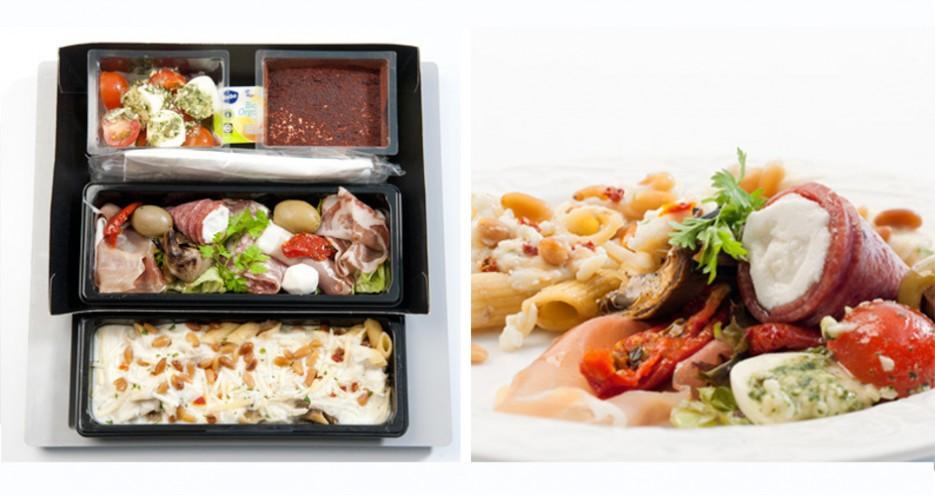 """""""Bella Italia"""" platter from KLM (via"""